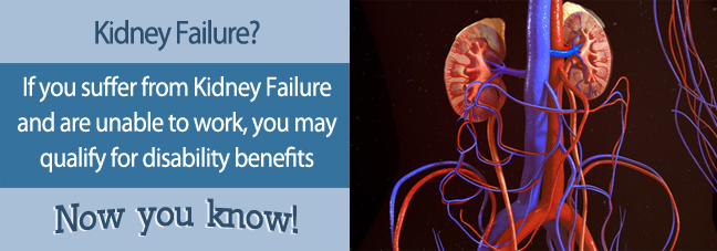 Can I work with Kidney Failure?