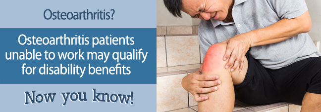Can I work with Osteoarthritis?
