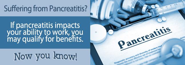 Social Security Benefits for Pancreatitis