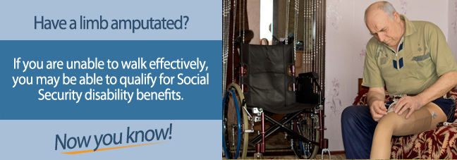 Social Security Benefits for an Amputation