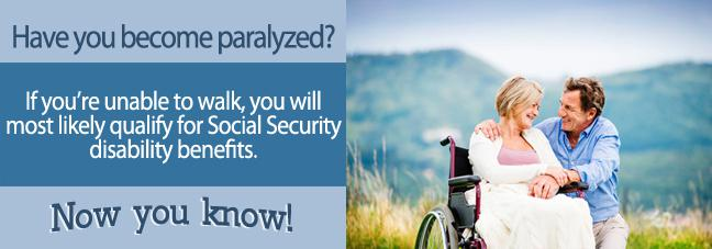 Paralysis and Social Security Disability