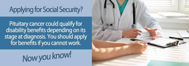 Qualifying for Social Security disability with pituitary cancer