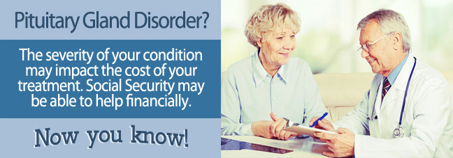 Pituitary Gland Disorders Condition Social Security Benefits