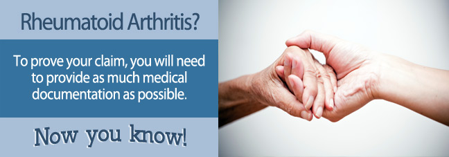 Rheumatoid Arthritis Social Security Benefits