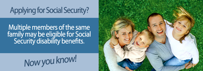 Can more than one family member receive Social Security Disability benefits?  | Disability Benefits Center