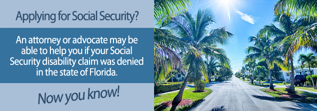 Disability benefits in Florida