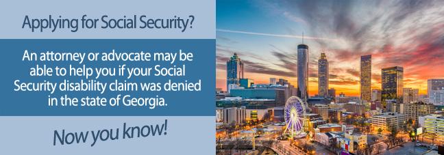 Disability benefits in Georgia