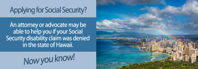Disability benefits in Hawaii