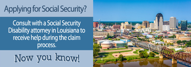 Disability benefits in Louisiana