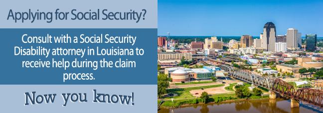 Disability benefits in Louisiana
