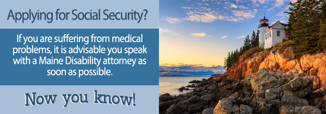 Filing a Disability Claim in Maine