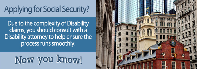 Disability benefits in Massachusetts