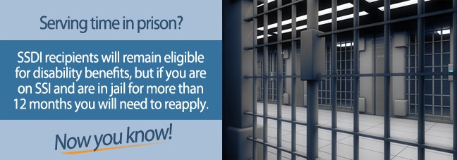 Do I have to reapply for benefits after going to jail?