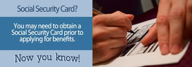 Social Security Card Social Security Benefits